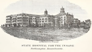 1867 Sketch of Northampton State Hospital